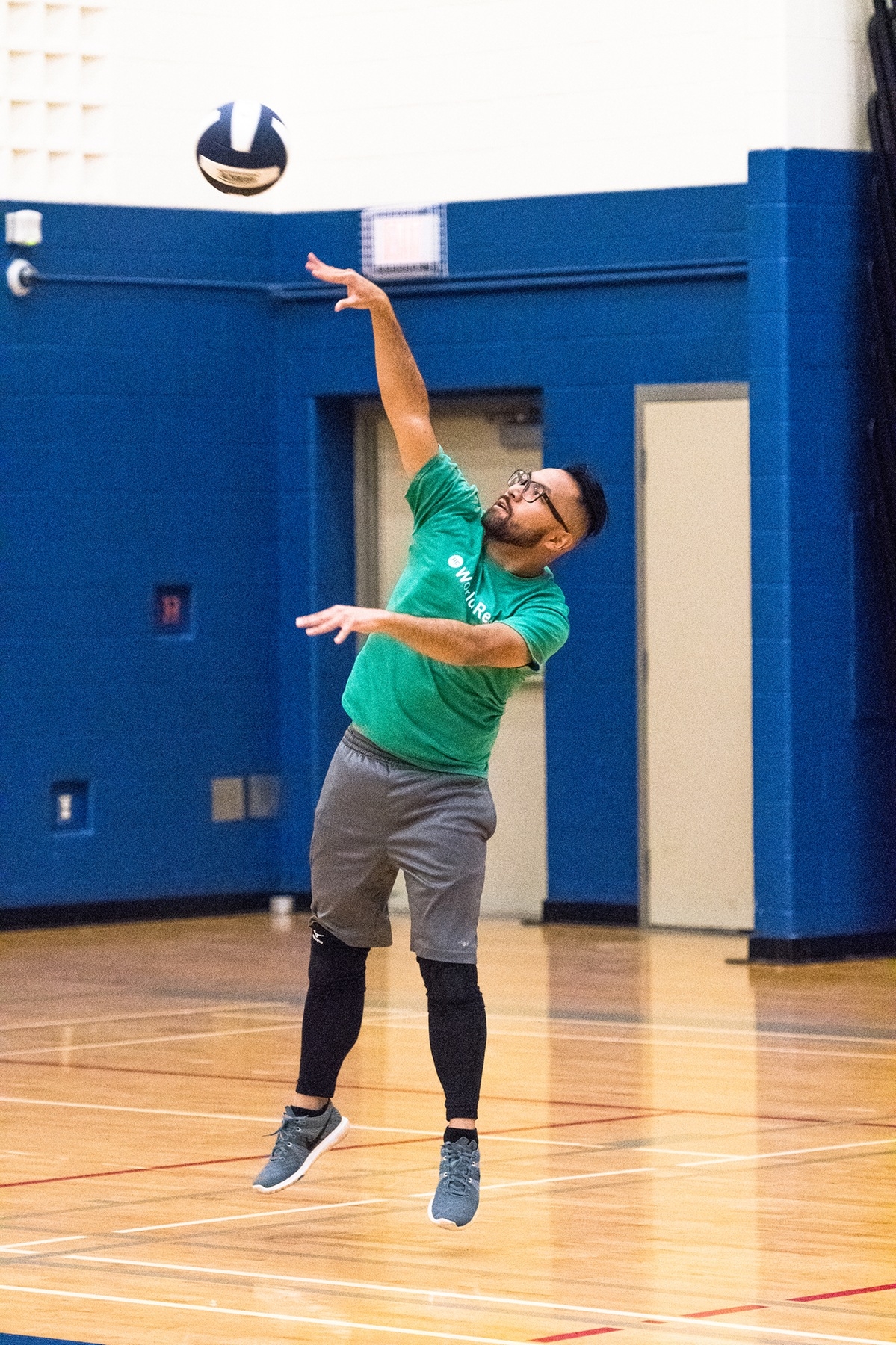 PHOTOS: Winter 2017 Intramural Volleyball