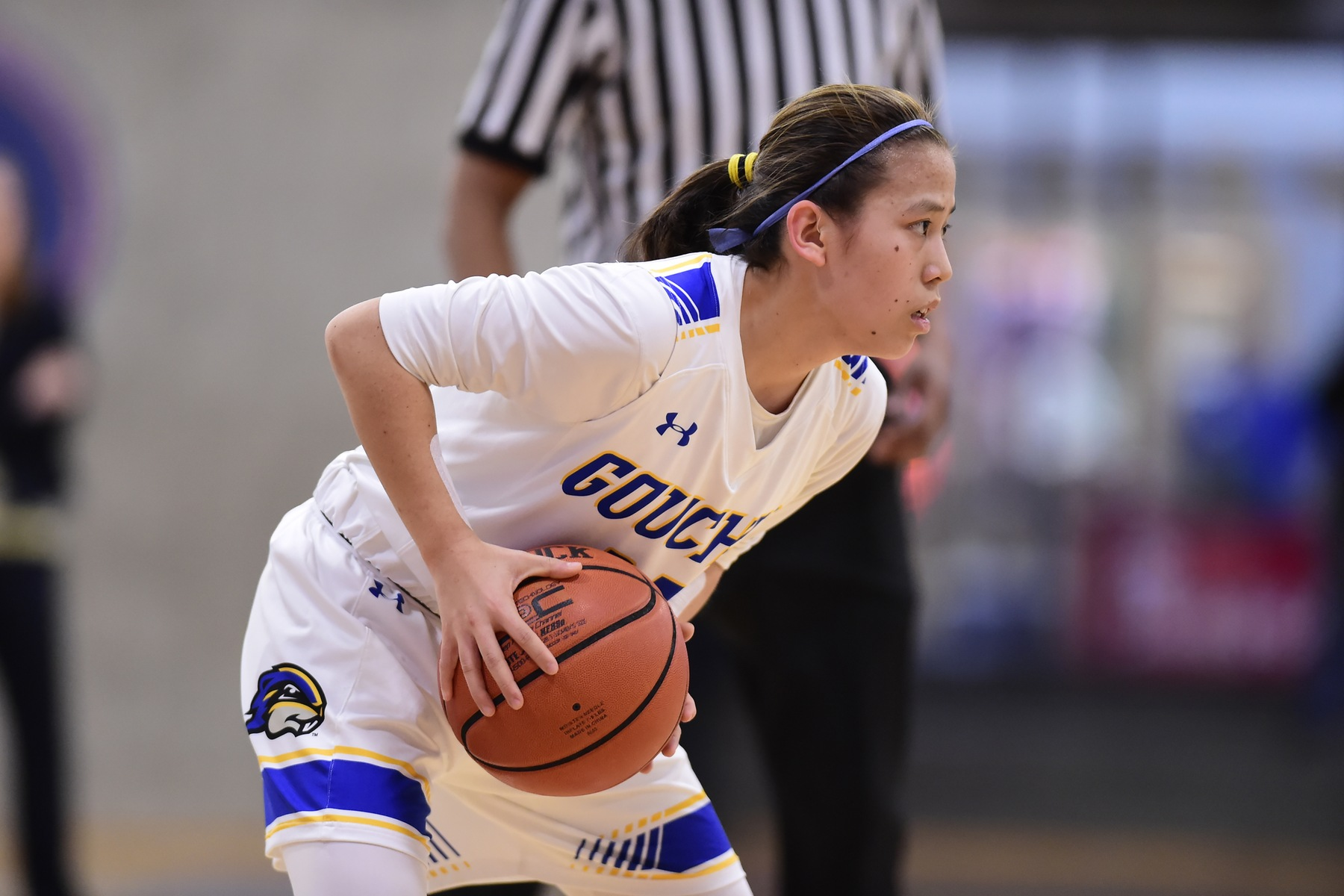Women's Basketball Coach Andrea Preston Captures First Goucher Win