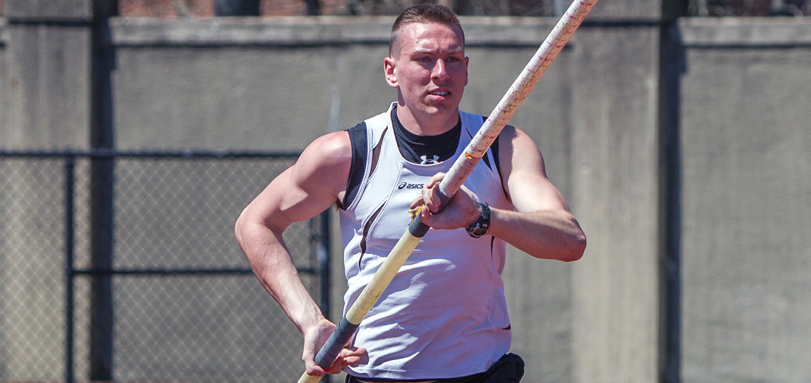 Johnathon Spilker earned All-OAC honors in the pole vault