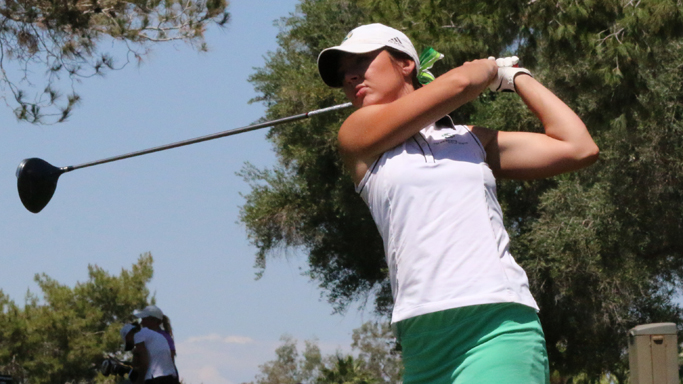 TRIO LIFTS WOMEN'S GOLF TO SECOND PLACE AFTER FIRST ROUND OF BIG SKY