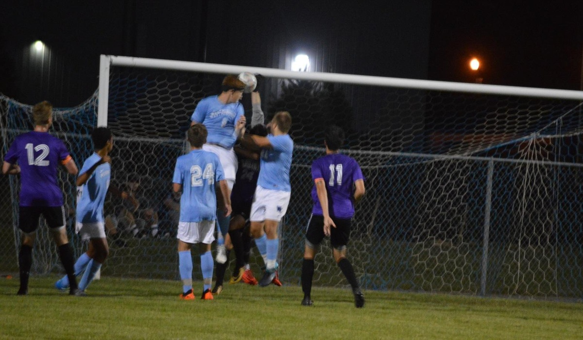 Westminster Men's Soccer Tallies First Conference Win
