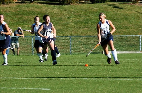 Jones' Three Scores Lead UMW Field Hockey Past Hood