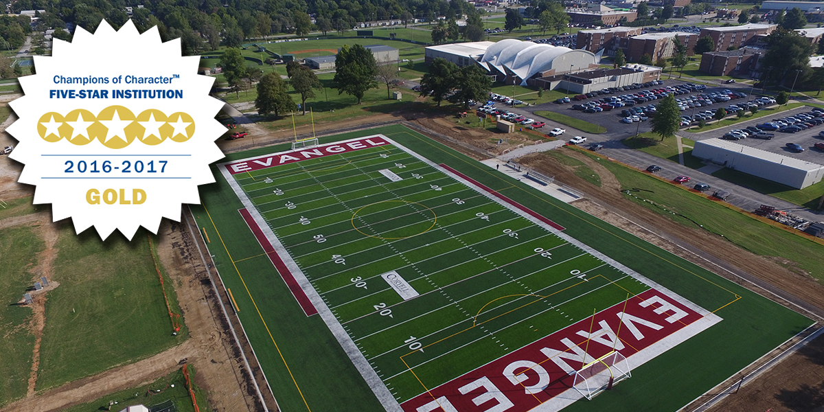Evangel Earns NAIA Gold Five-Star Recognition