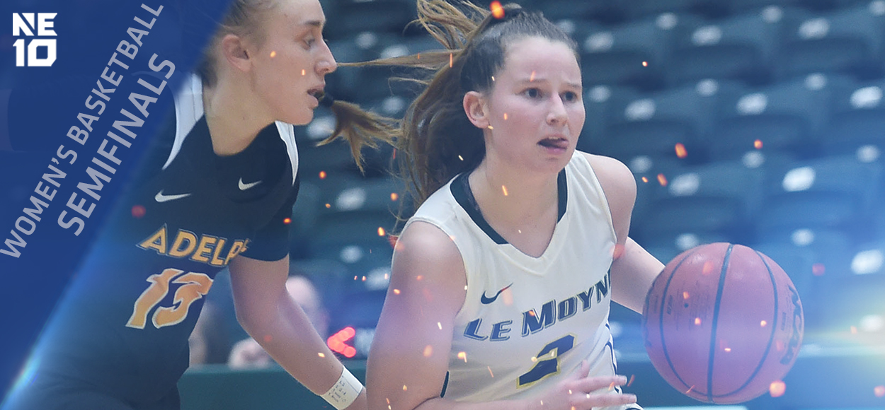 Embrace the Championship: Top Seeds Advance to NE10 Women's Basketball Title Game