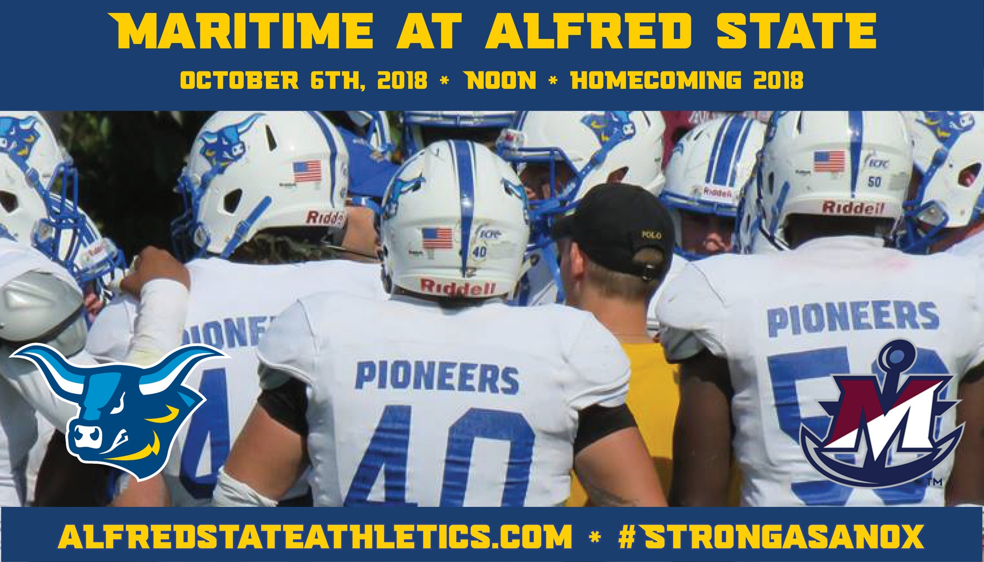 Alfred State takes on Maritime for Homecoming 2018