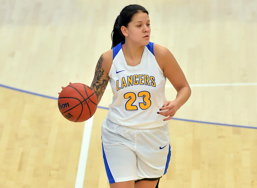 Sweeney's Triple-Double Highlights Women's Basketball's Win Over Westfield State