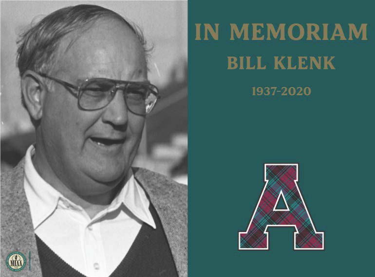 Alma College, MIAA Mourns the Passing of Bill Klenk