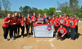 Softball, May 2-4