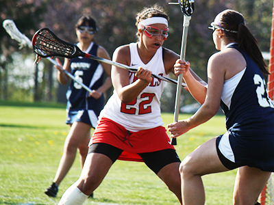 Women's Lacrosse Knocks Off Hilbert, 16-8