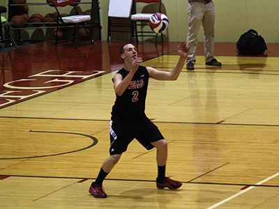 Men's Volleyball Swept In Season Opening Doubleheader