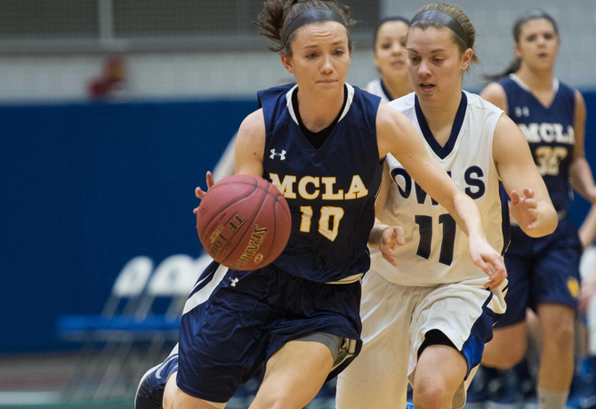 Defense leads MCLA women past Wheaton (MA) 55-42 in Daytona Beach