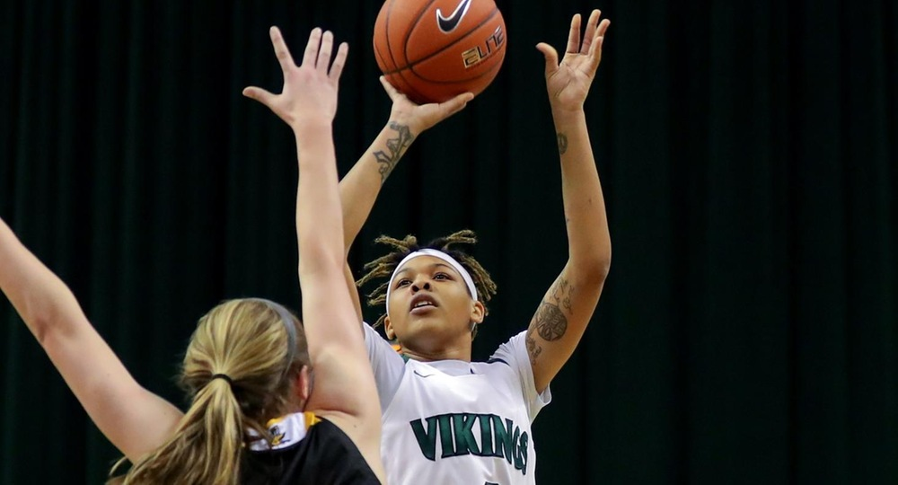 Women's Basketball Falls At League-Leading Wright State