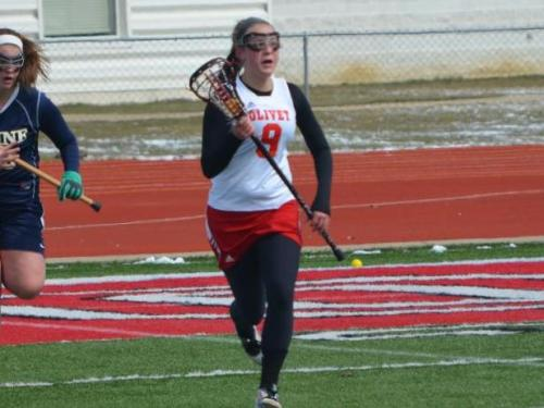 Women's lacrosse team beats Baldwin Wallace, 8-6