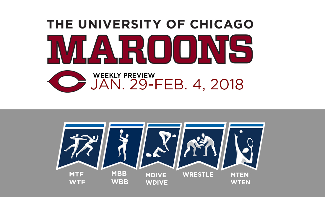 UChicago Athletics Preview: Jan. 29 – Feb. 4