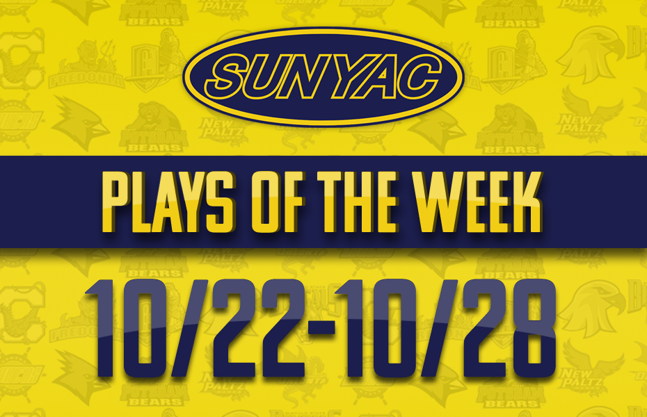 SUNYAC Plays of the Week - Oct. 22-28