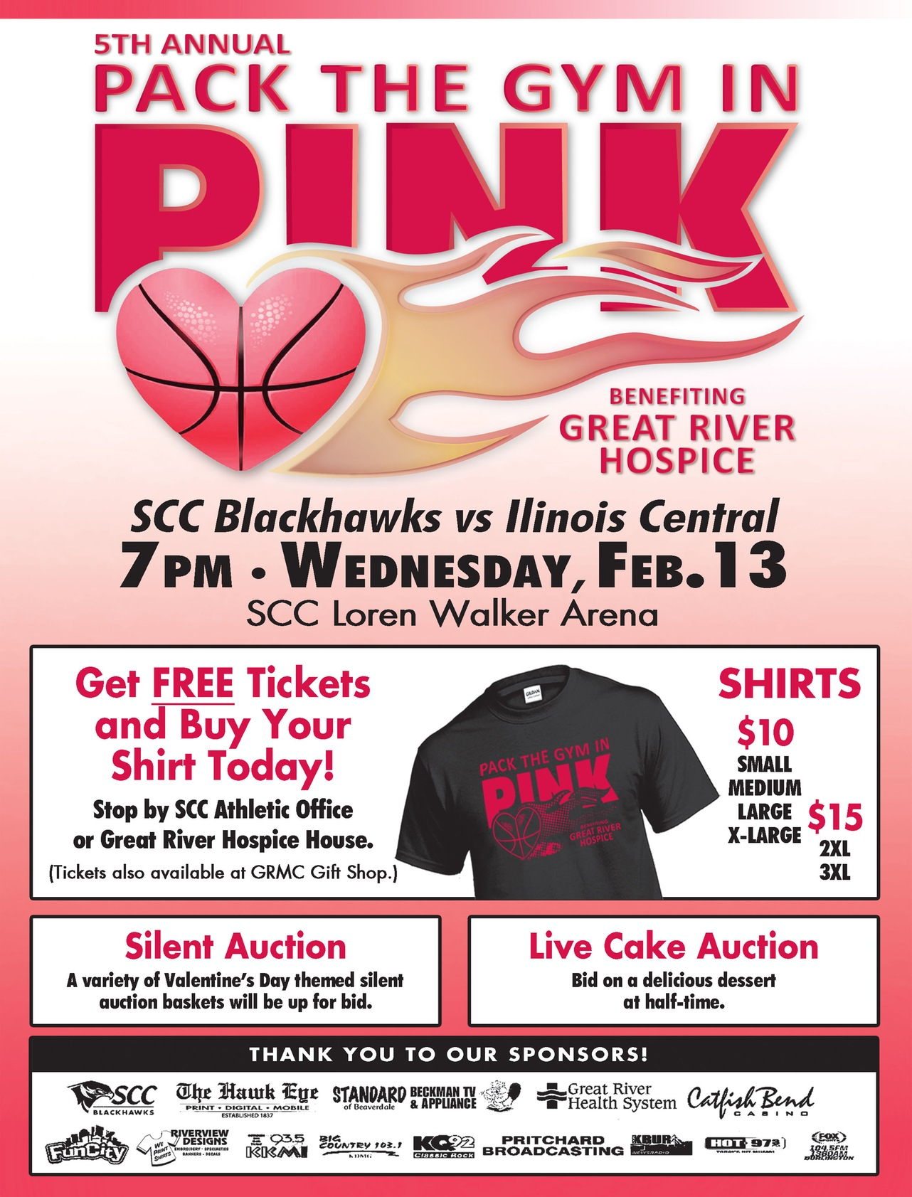 SCC Gears up for Pack the Gym in Pink