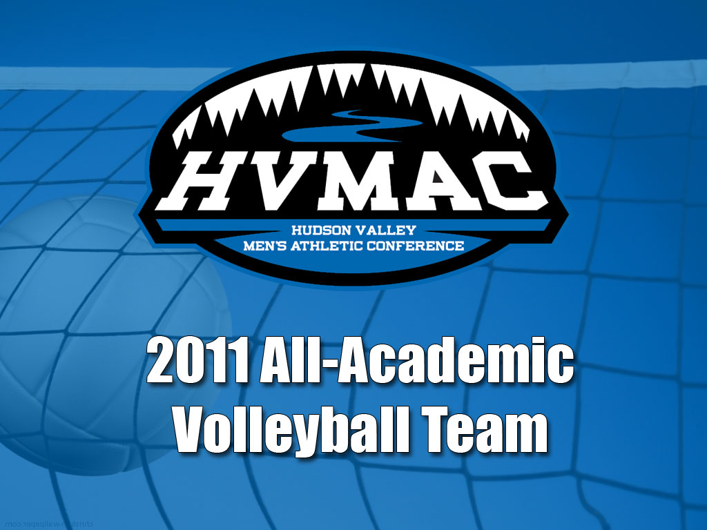 2011 HVMAC All-Academic Volleyball Team