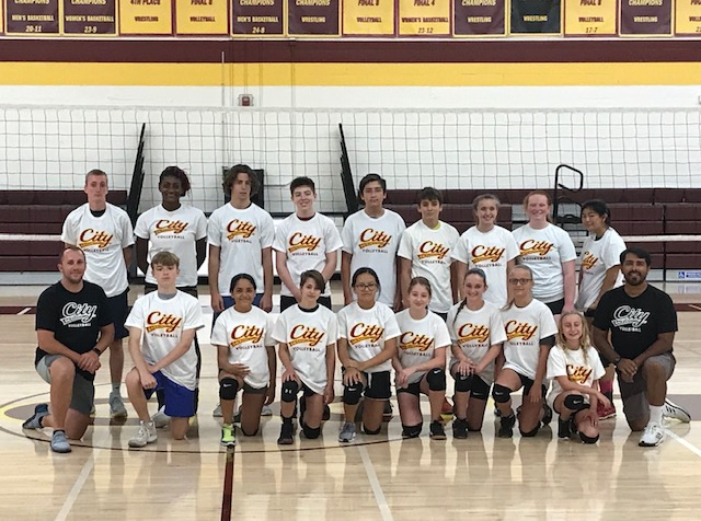 Volleyball hosts another successful Setters clinic and All Skills Camp!