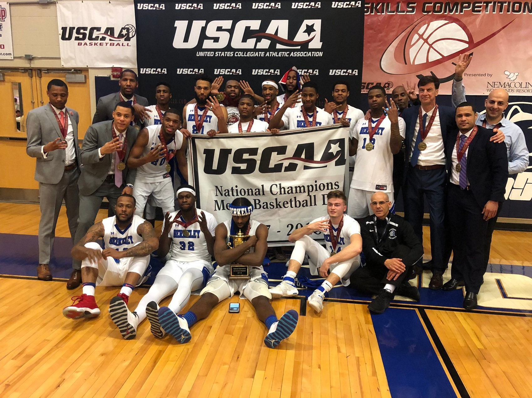 Berkeley Captures Fourth Straight USCAA Men's Basketball National Championship