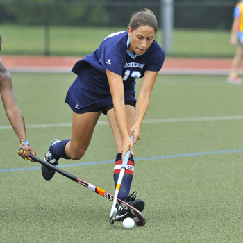 Field Hockey Downs Castleton State, 4-1; Improves to 7-0