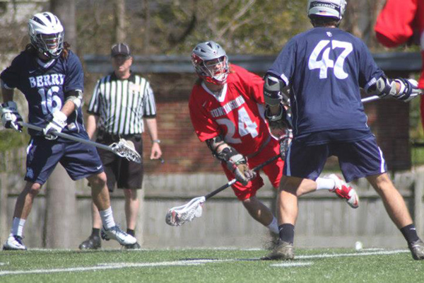 Huntingdon men's lacrosse loses at Berry