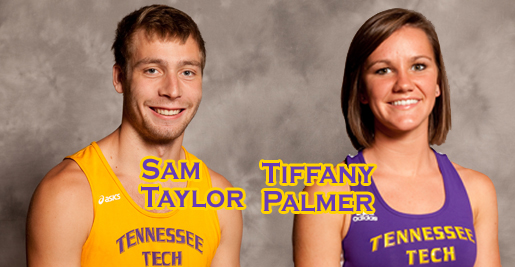 Tech men sixth, women 10th at Vanderbilt; Palmer and Taylor pace TTU