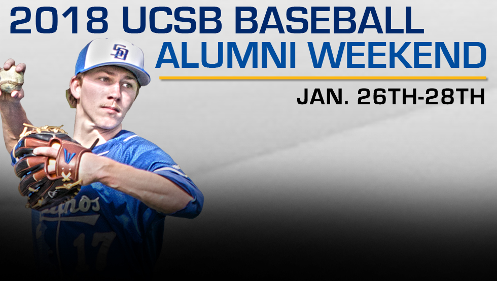 UCSB Baseball Announces 2018 Schedule, Details on Alumni Weekend