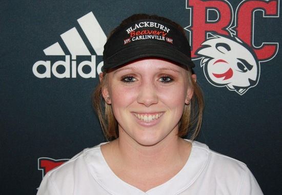 Blackburn Softball splits doubleheader with conference foe Greenville