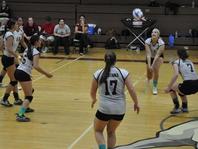 Volleyball Advances to Semifinals with Win over Middlesex