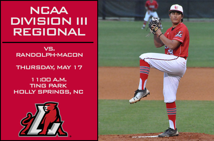 Baseball: Panthers open Holly Springs Regional against top-seeded Randolph-Macon