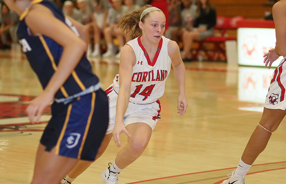 Cortland's McGuire named SUNYAC Women's Basketball Athlete of the Week