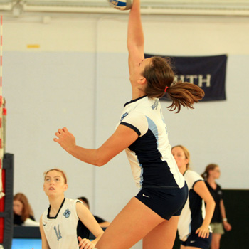 Volleyball Defeats MCLA, 3-1; Moves to 6-0!