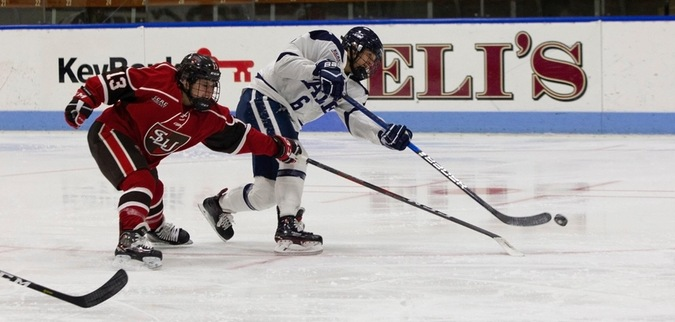 Yale Falls to No. 9 St. Lawrence