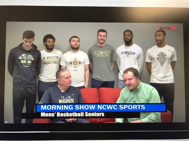 Men's Basketball Senior Class Featured on WHIG-TV