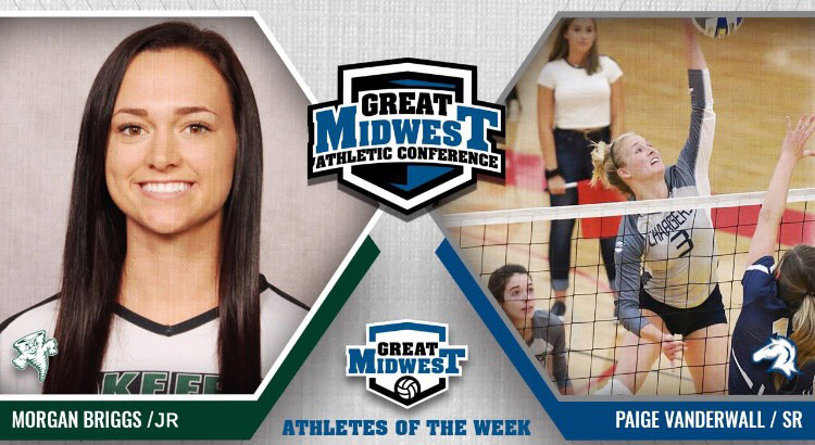 Briggs named G-MAC East Volleyball Player of the Week