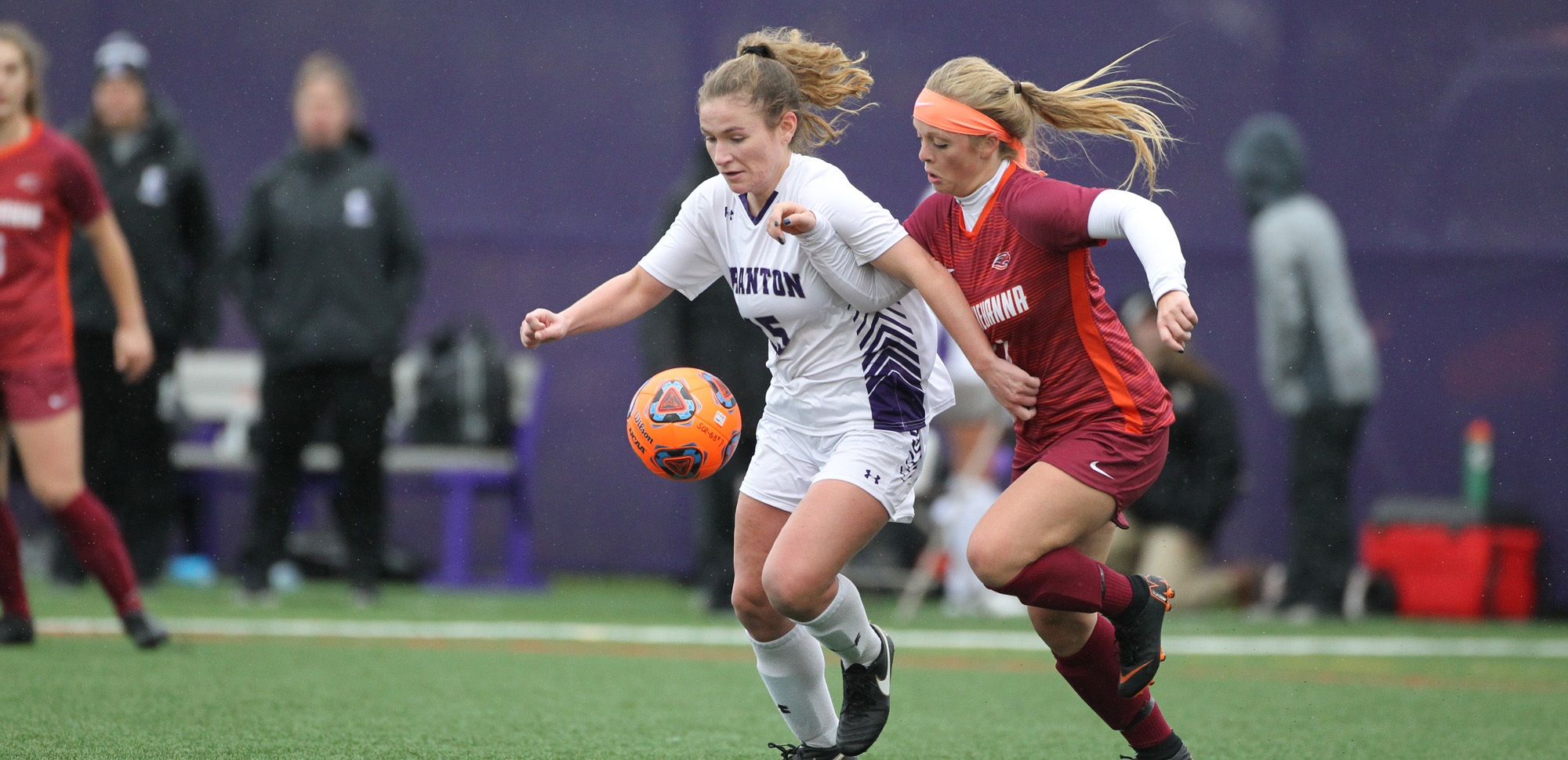 Grace Elliott has been named The University of Scranton Athlete of the Week after scoring a game-winning goal in the NCAA Tournament.