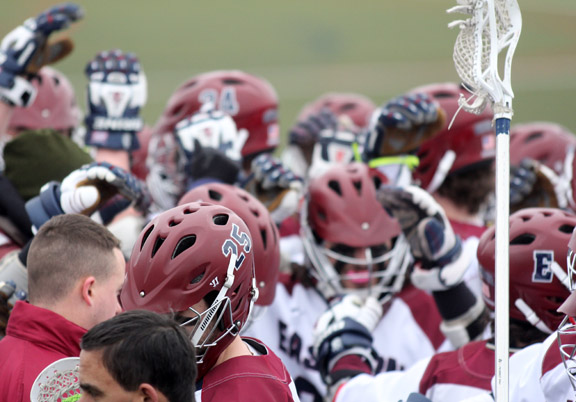 All In For Eastern Men's Lacrosse Romp