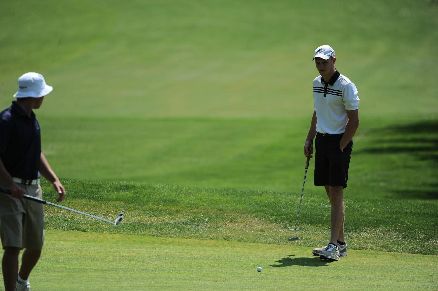 Fuglestad Shoots 77 in First Round of NCAA Championships
