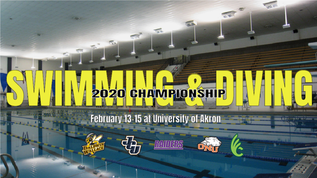 Baldwin Wallace set to host 2020 OAC Swimming & Diving Championships