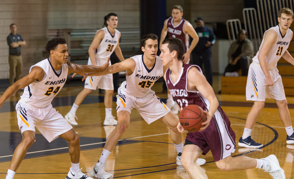 No. 13 Emory Men's Basketball Hits The Road For Carnegie Mellon & Case Western Games