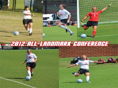 Five Cardinals named All-Conference, including three on the First Team