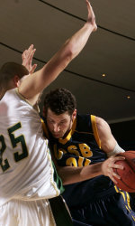 Gauchos Fall to Cal Poly in Big West Tournament, 57-50