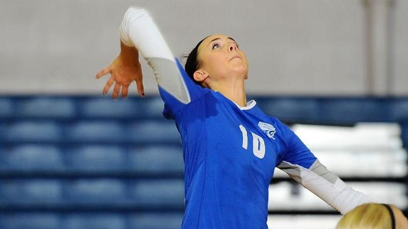 Volleyball Earns Four Set Victory Over SHU