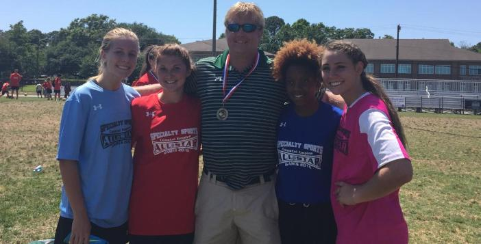 Four Lady Gators Selected to Play in All Star Soccer Game
