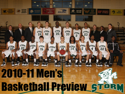 Video Preview: Men's Basketball Ready for Challenge of GLIAC Play