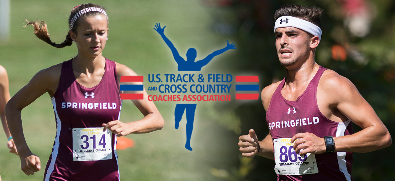 Men's and Women's Cross Country Earn USTFCCCA Team Academic Awards; Pinho and Madeia Recognized Individually