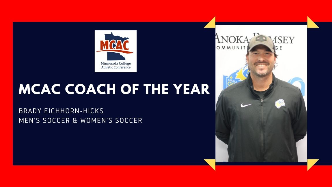 Brady Eichhorn-Hicks Named MCAC Co-Coach of the Year