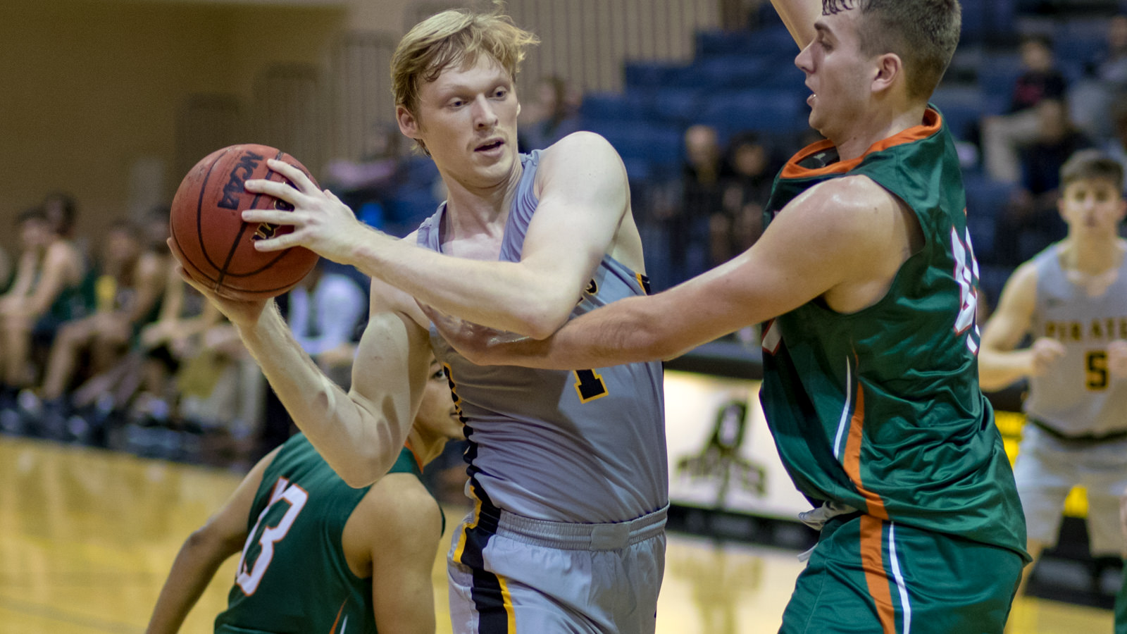 Back At Full Strength, Men's Basketball Rolls Past Austin College