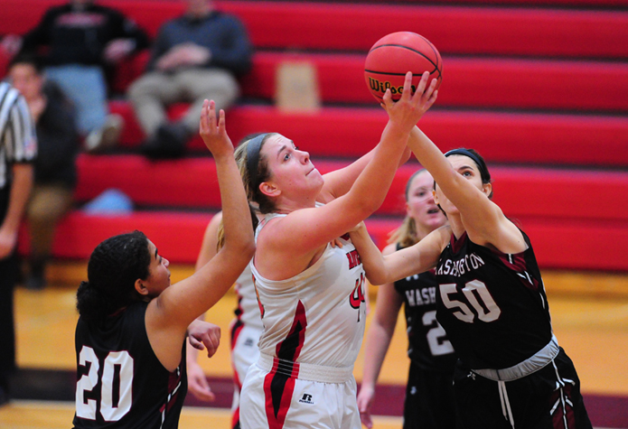 Women's Basketball Advances to Centennial Conference Championship Game