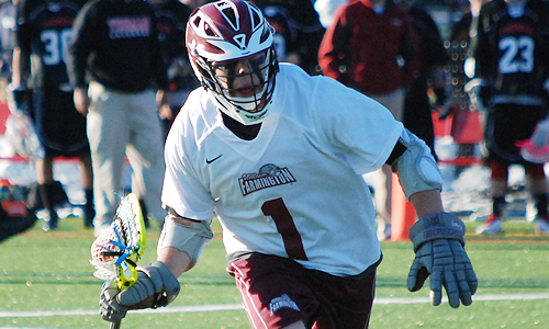Men's lax posts first win over Husson with 10-8 victory